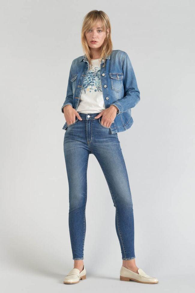 Veste en jeans bleu Lilly