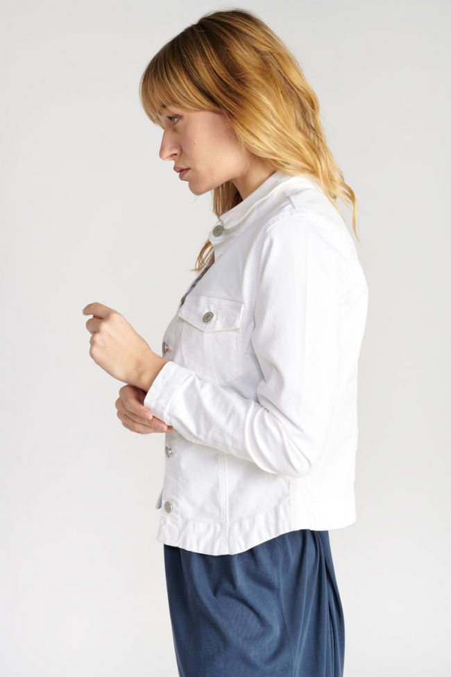 White Lilly jeans jacket