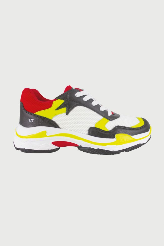 Yellow Power sneakers