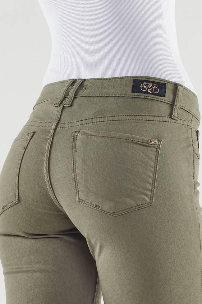 Adva capri khaki pants