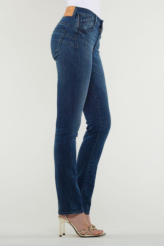 Dark Blue Pulp Regular High Waist Jeans