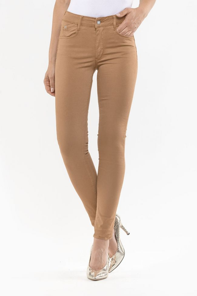 Pulp Skinny High Waist Jeans Cappuccino