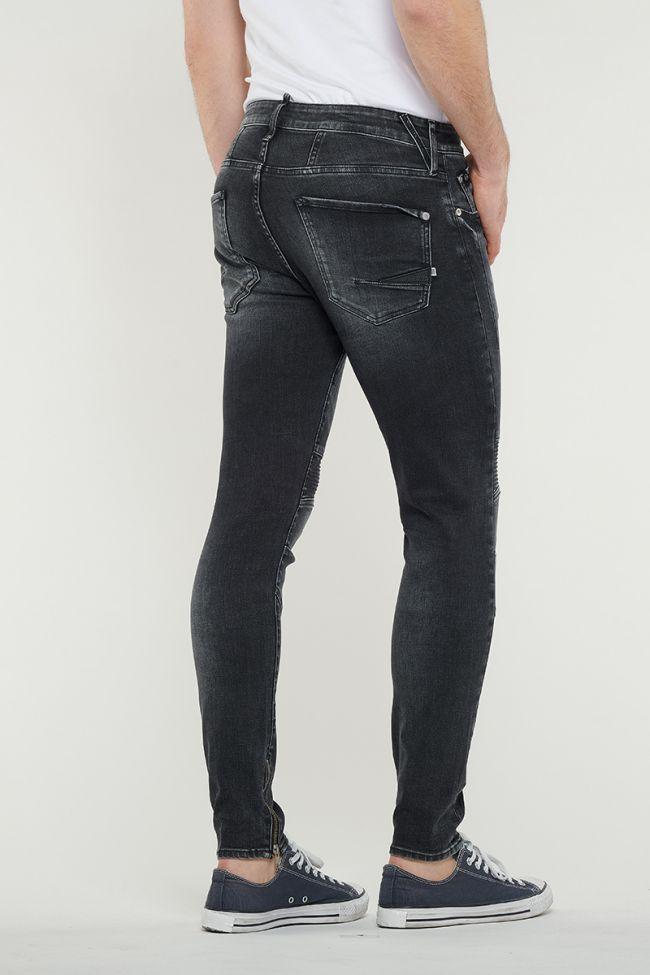 Jeans Power Skinny Biker Noir