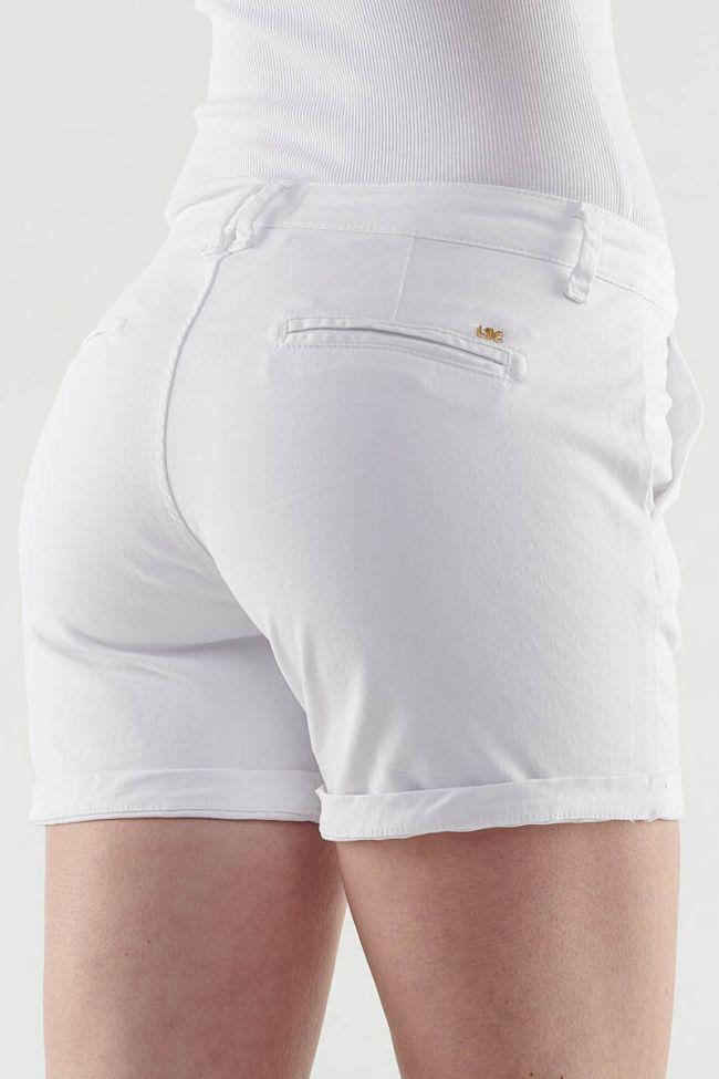 White Live short shorts