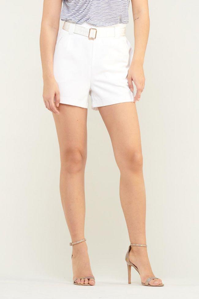 Richie shorts white