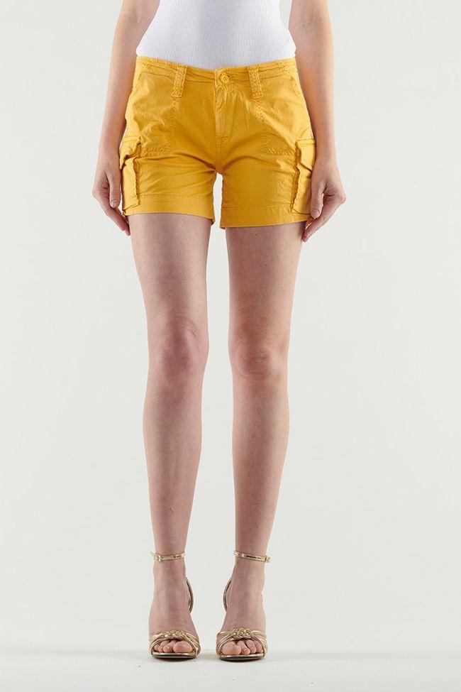Yellow Tokio short shorts