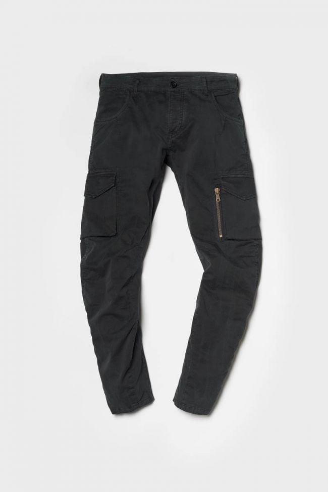 Black cargo trousers Alban