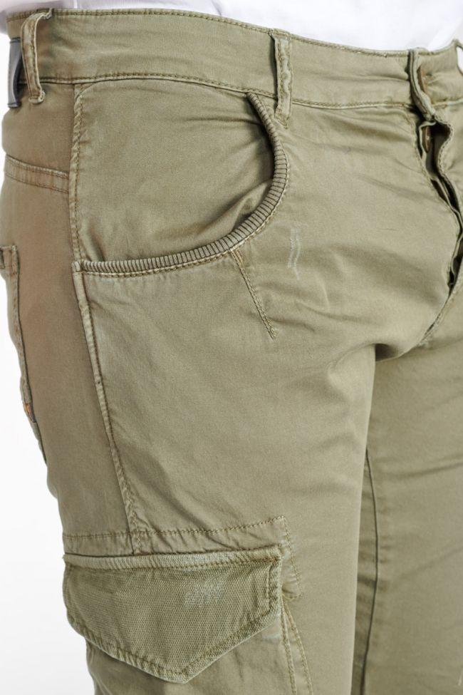 Khaki cargo trousers Alban