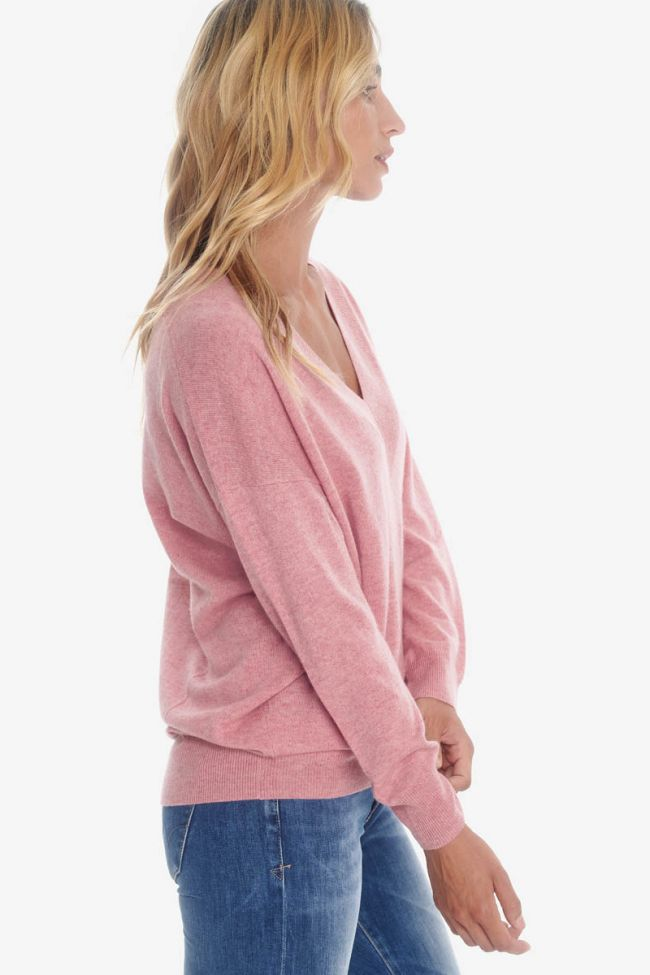 Wool and cashmereblush pullover