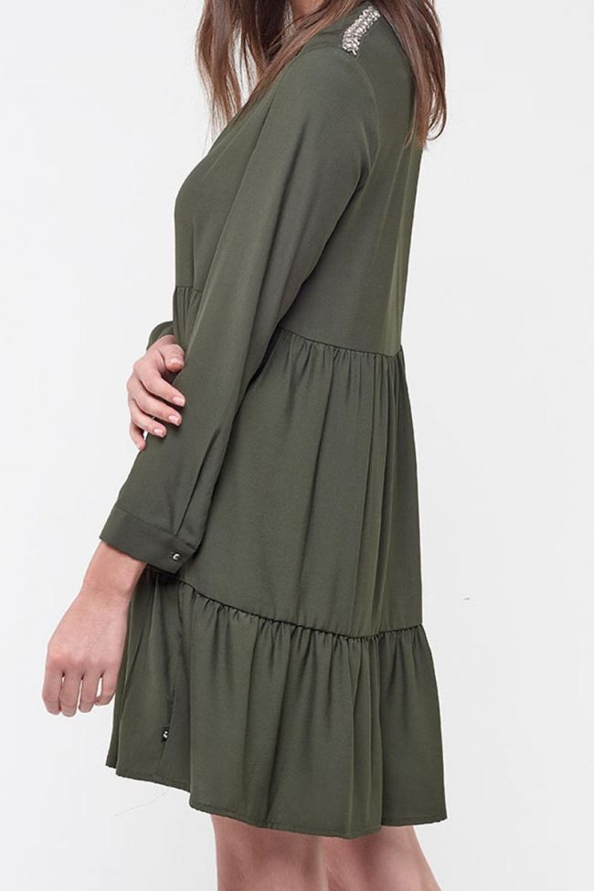 Mika Avocado Dress