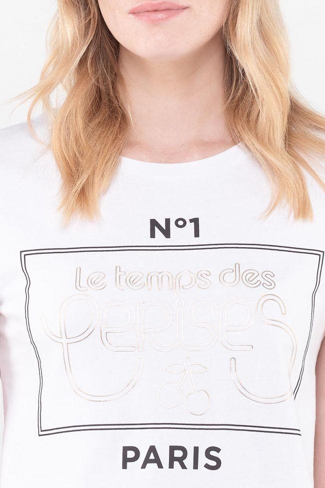 Pistache White T-Shirt