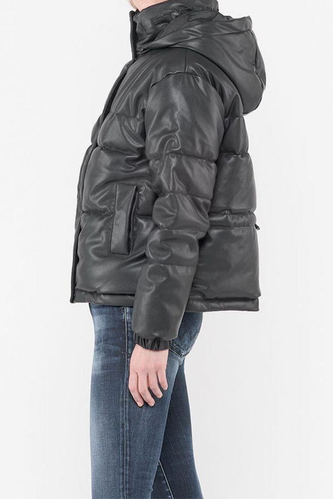 Skin Black Down Jacket