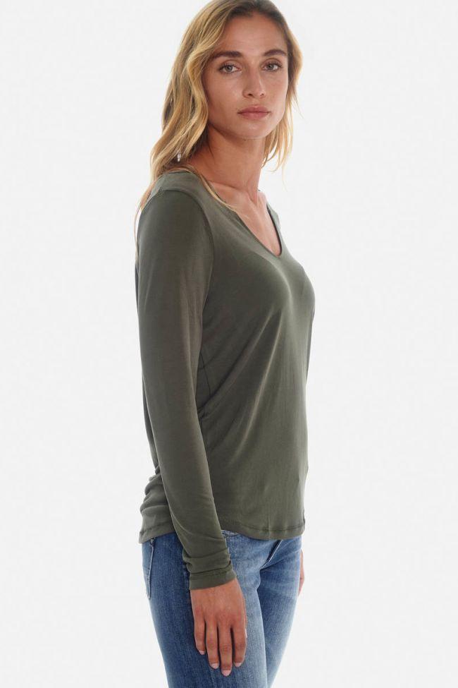Tyra khaki T-Shirt