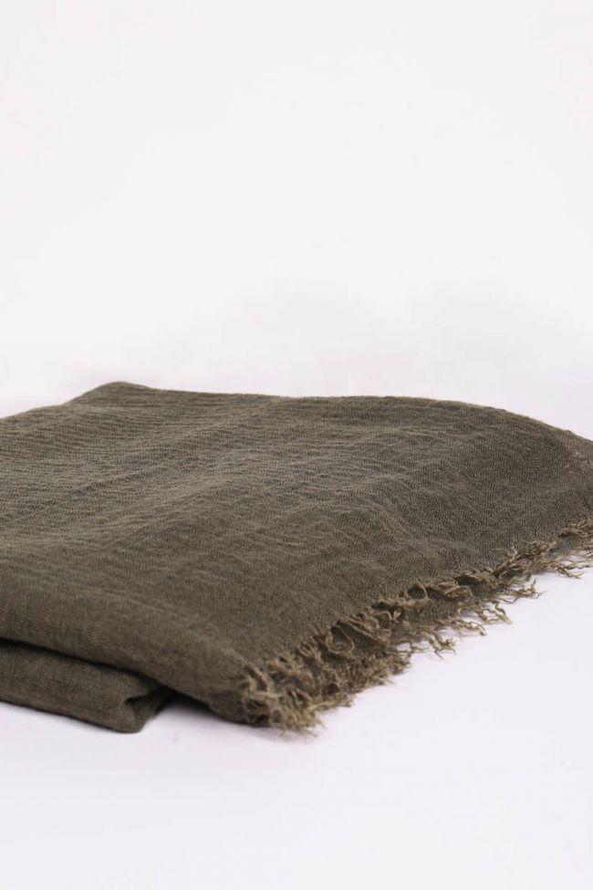 Clay Khaki scarf