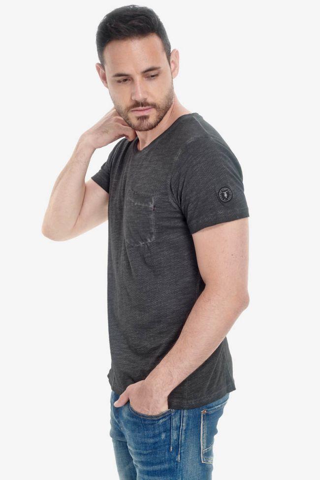 T-Shirt Morice noir charbon