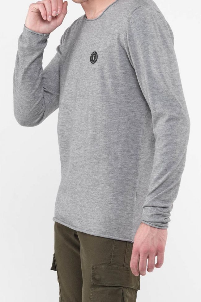 Terry grey pullover