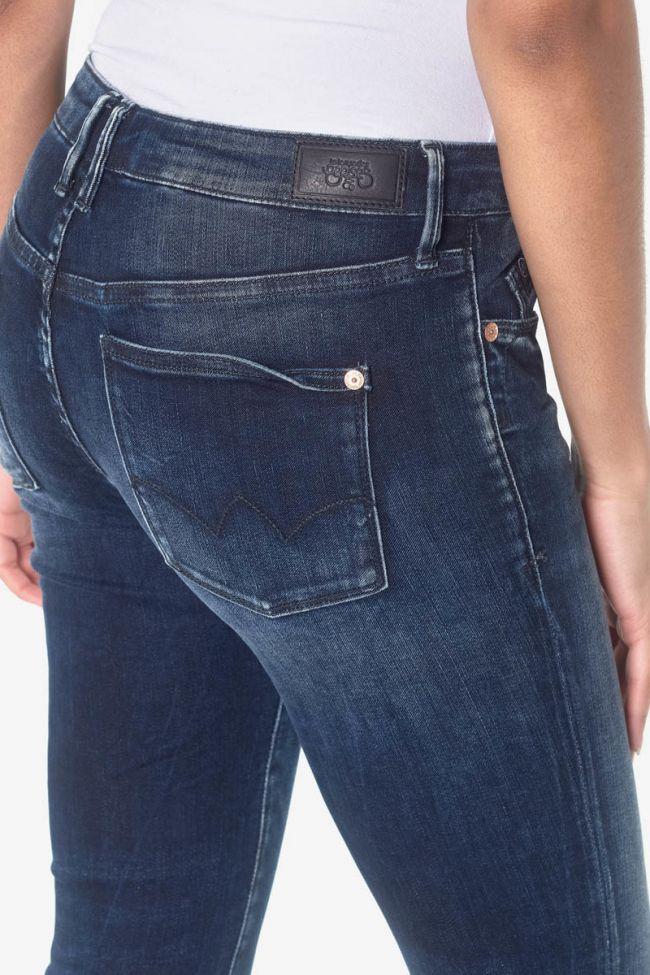 Power skinny 7/8eme jeans bleu N°1