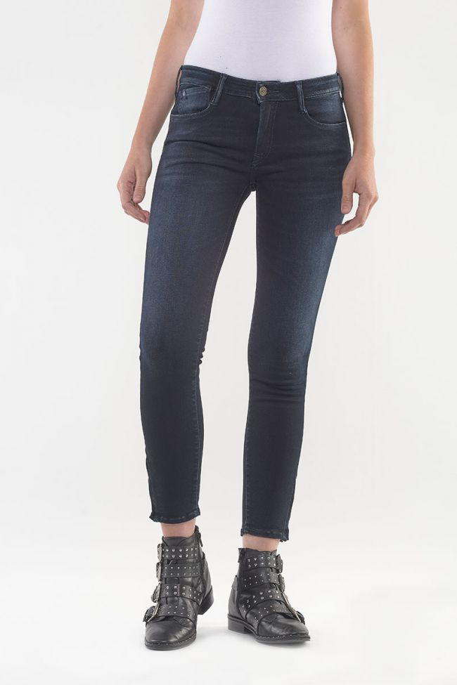 Power Skinny Jeans 7/8th Blue Black