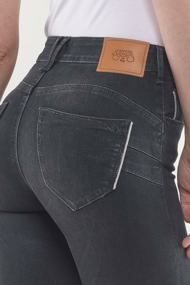 Jeans Pulp Regular Taille Haute Noir