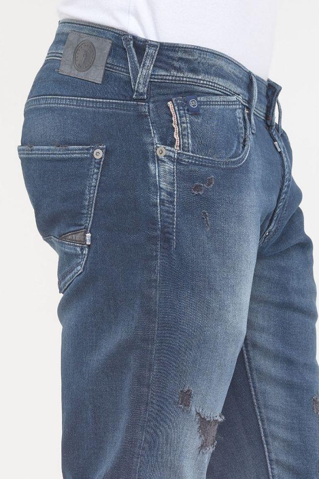 Jeans 700/11 Blue Jogg Bleu Noir Destroy