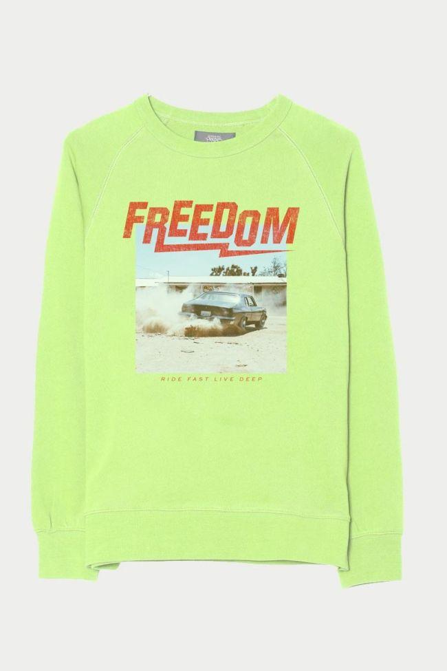Blitzbo neon green sweatshirt
