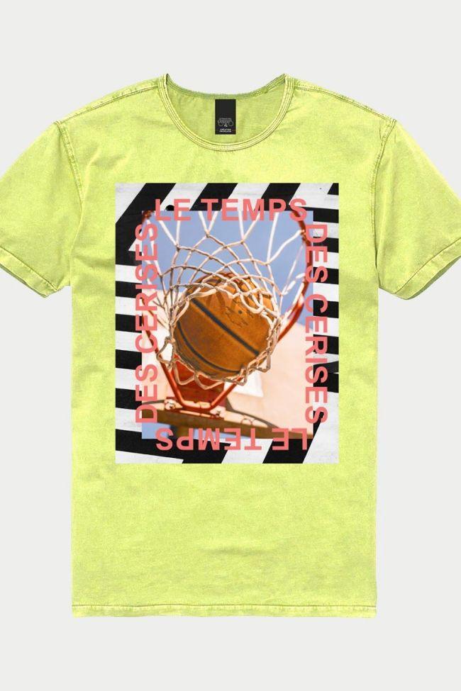 T-Shirt Flankbo jaune