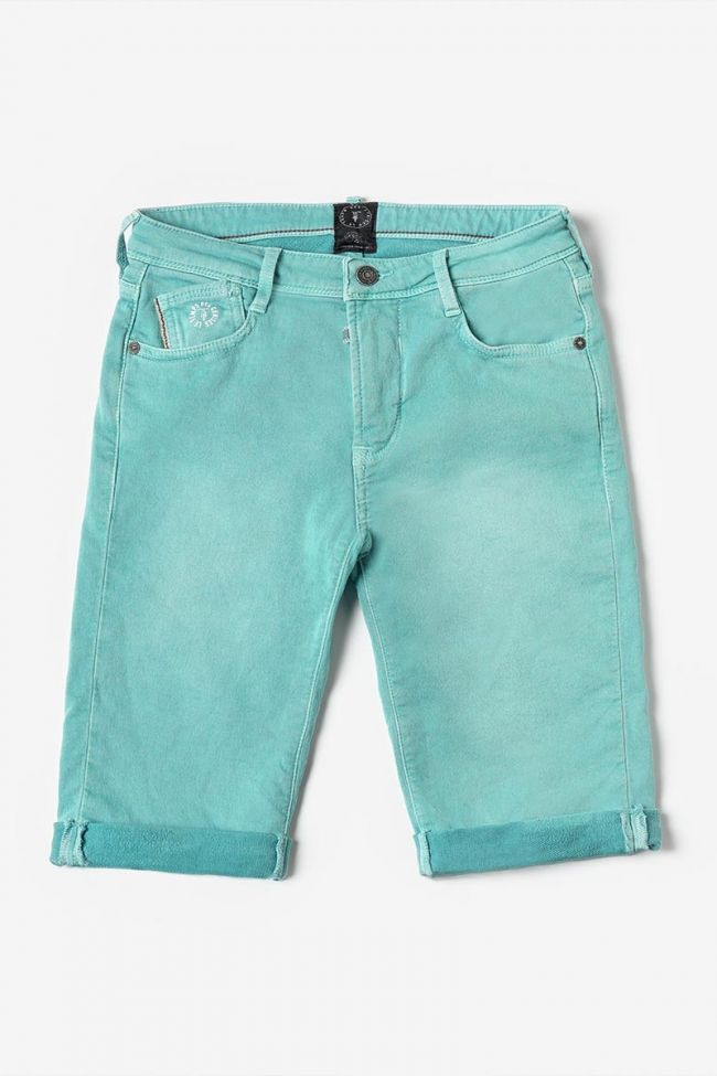 Turquoise blue Jogg bermuda shorts