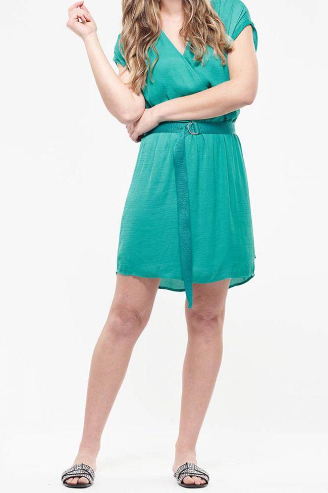 Batty green dress