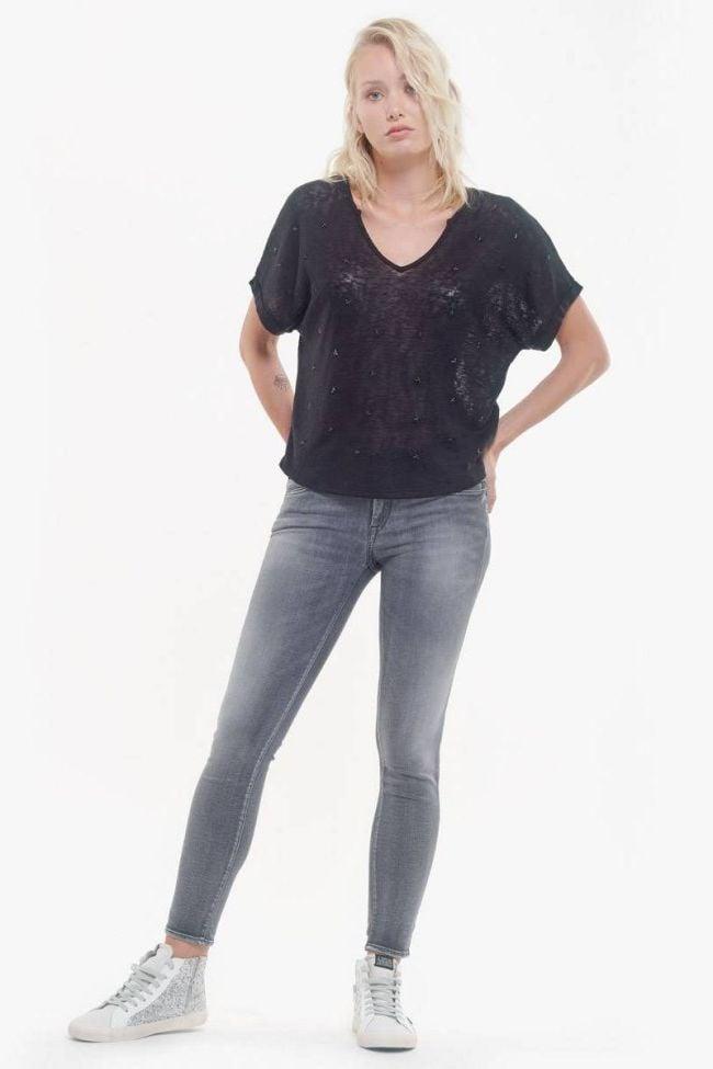 Black Bote t-shirt with black stars