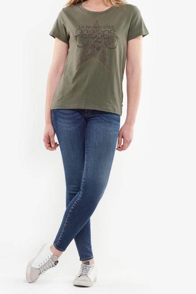 Celeste khaki t-shirt