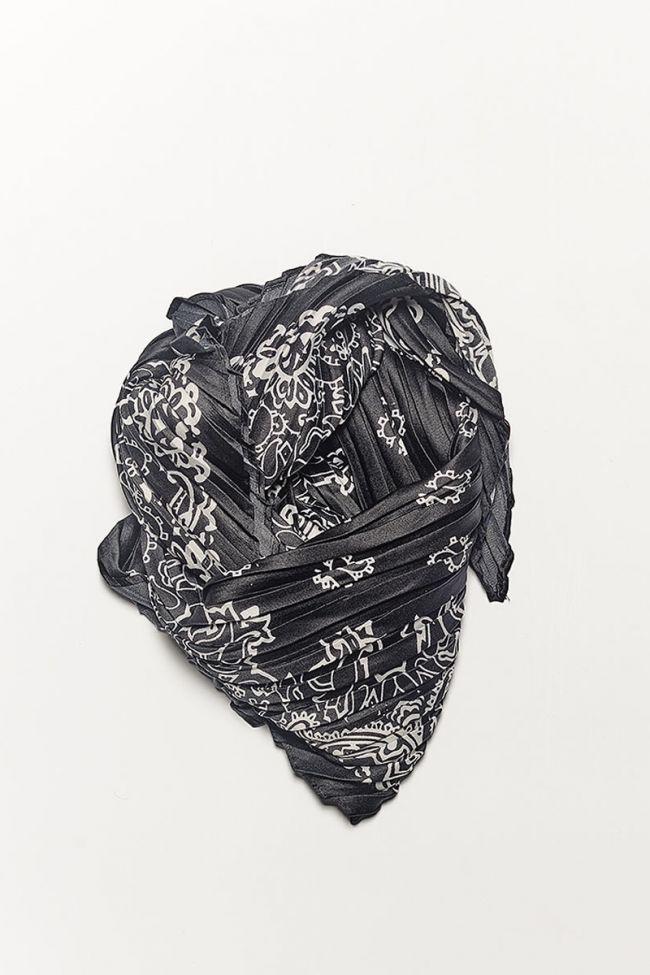 Cruz black scarf