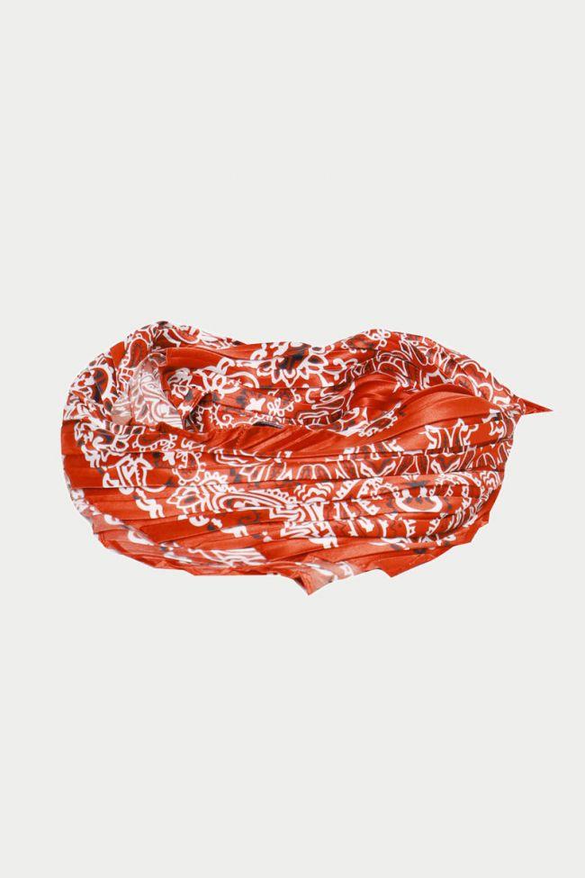 Foulard Cruz rouge