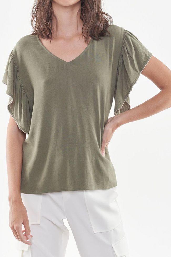 Darker khaki top