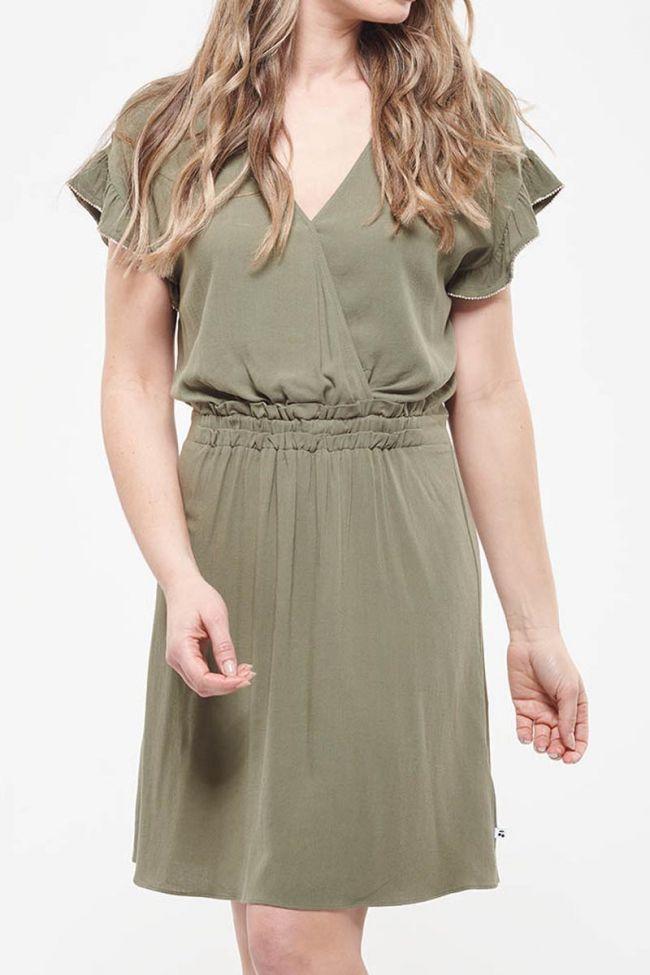 Dusty khaki dress