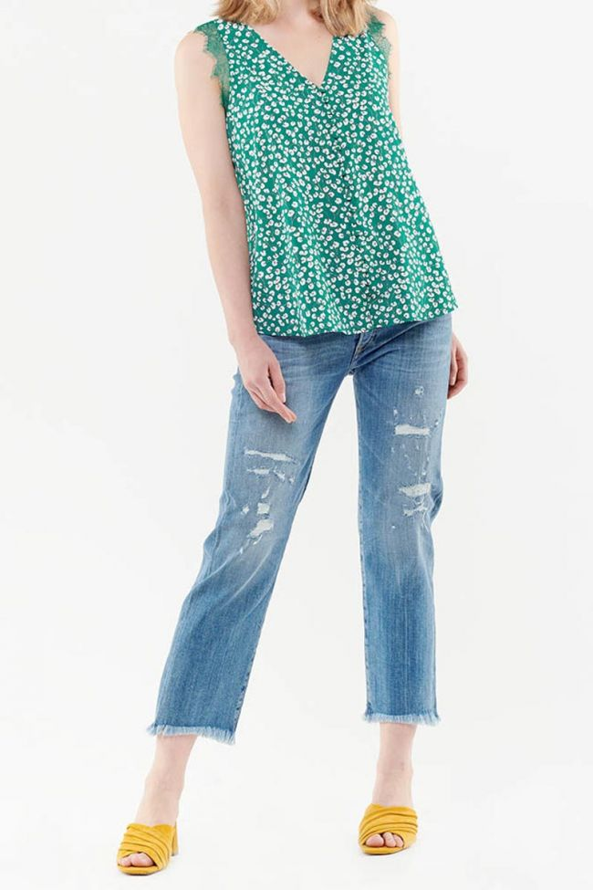 Garance green top