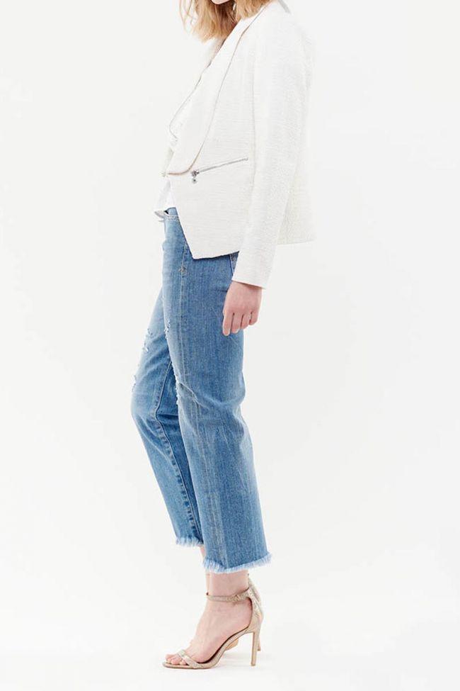Jade white blazer
