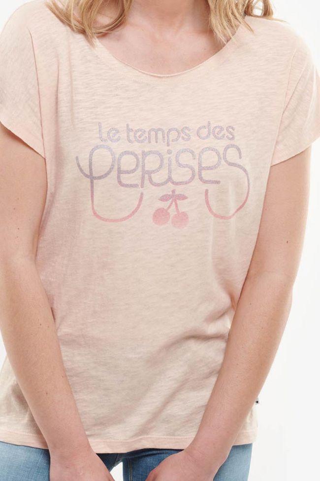 Powder pink Jenna T-shirt