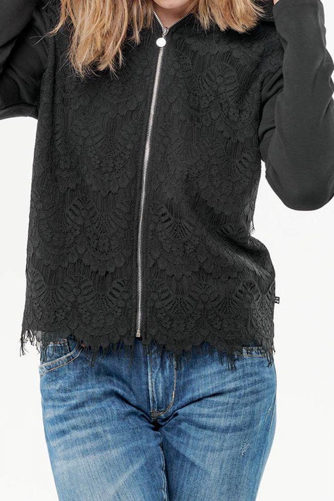 Sweat-shirt Letto noir