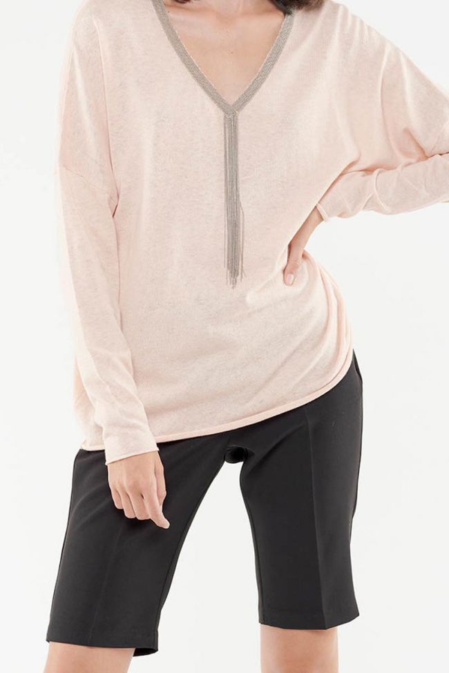 Manae pink pullover