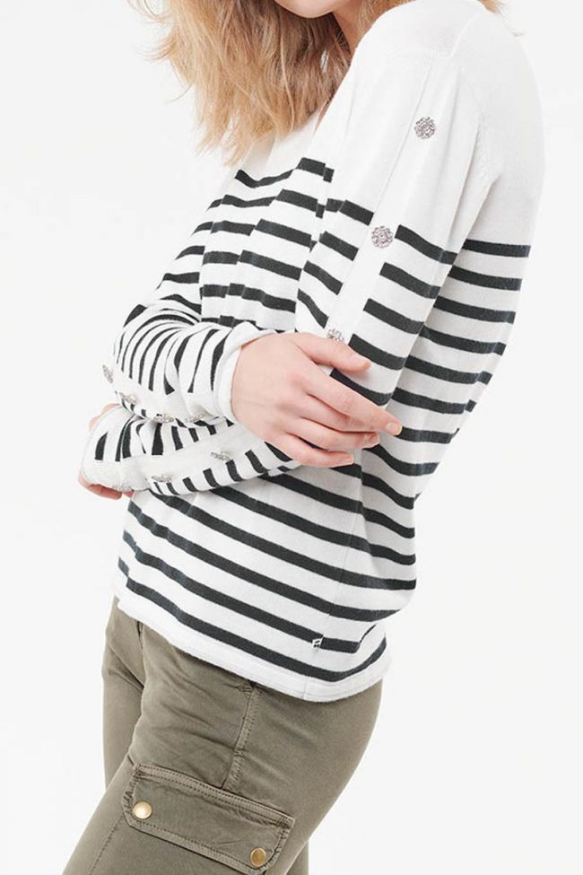 Marny white pullover