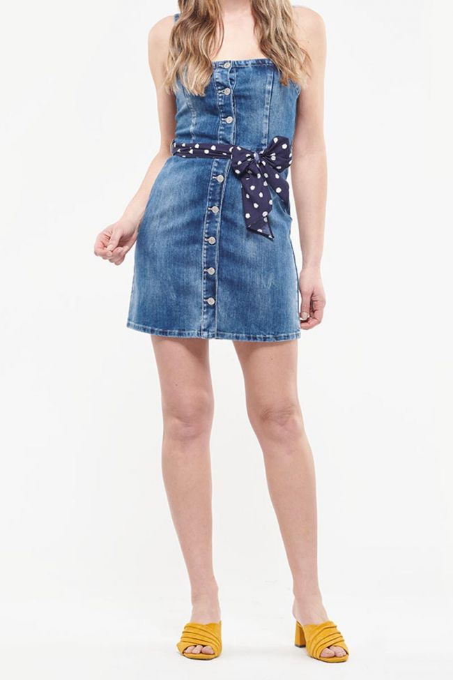 Robe en jeans Marylin bleue