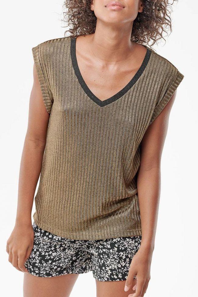 T-Shirt Mosa doré