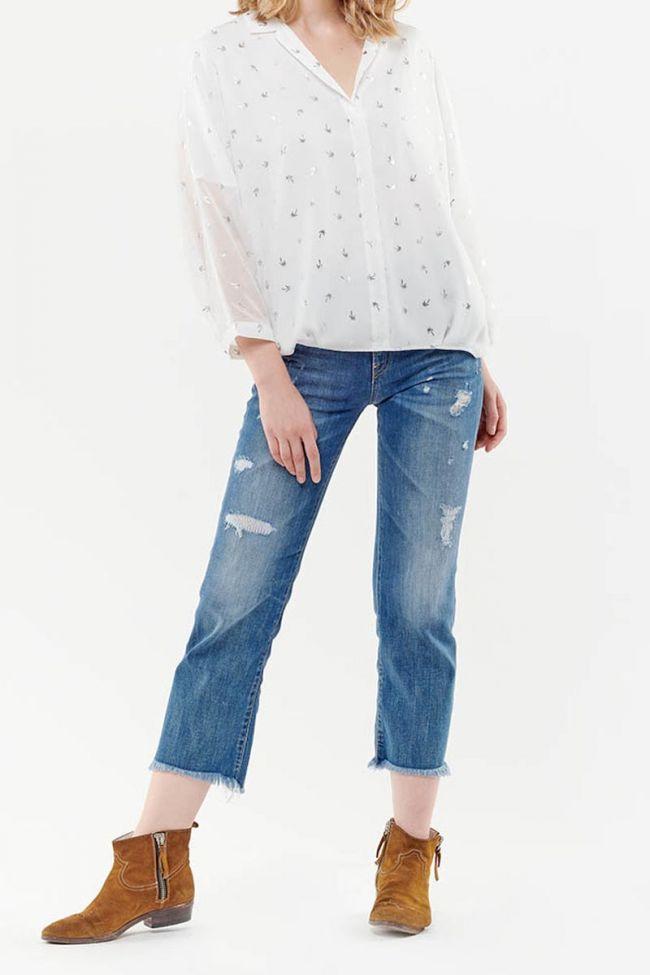 Norda off-white blouse