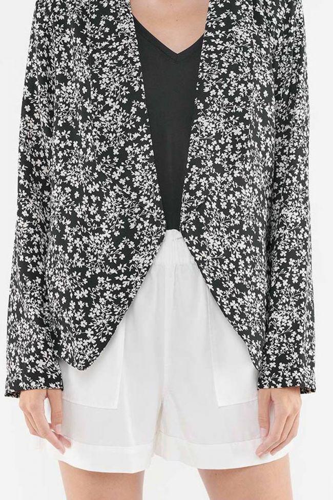 Opal black blazer jacket