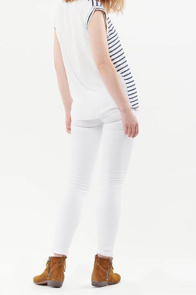 T-Shirt Sergia Marine en lin