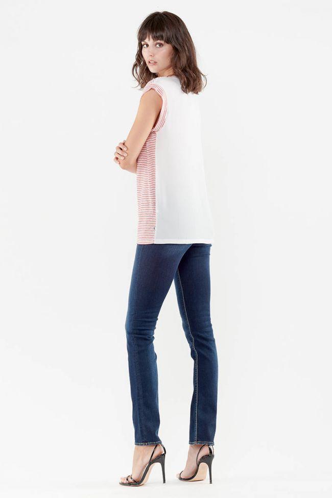 Linen Sergia red T-Shirt