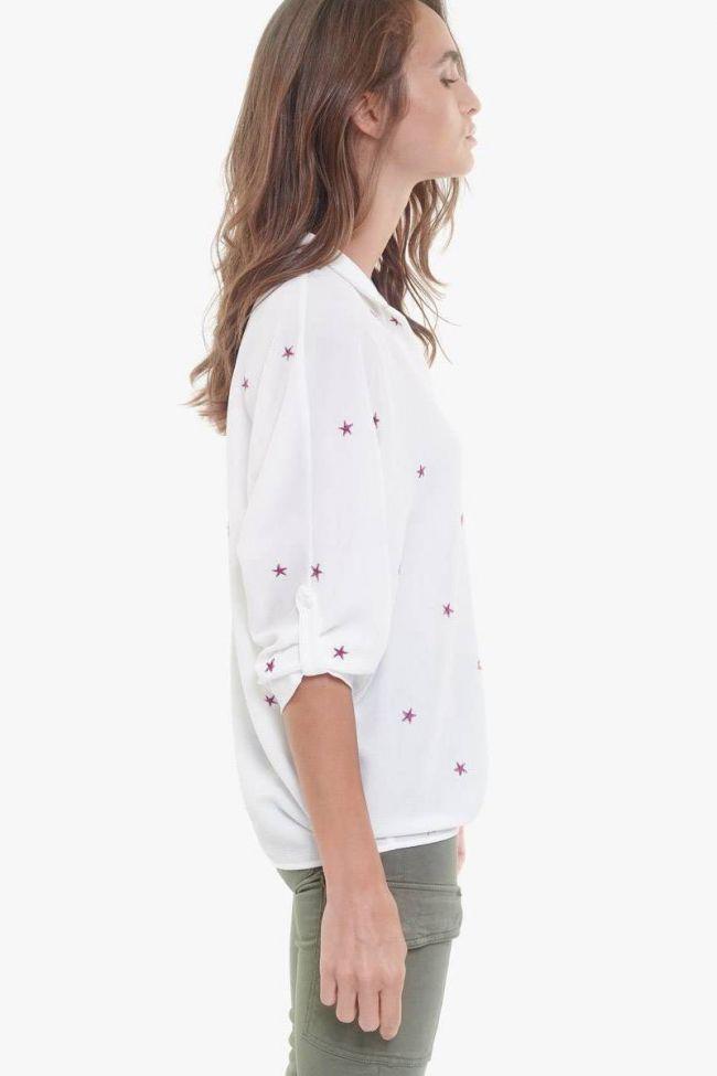 Purple stars Strella blouse