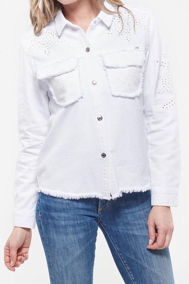 Texaco white jacket