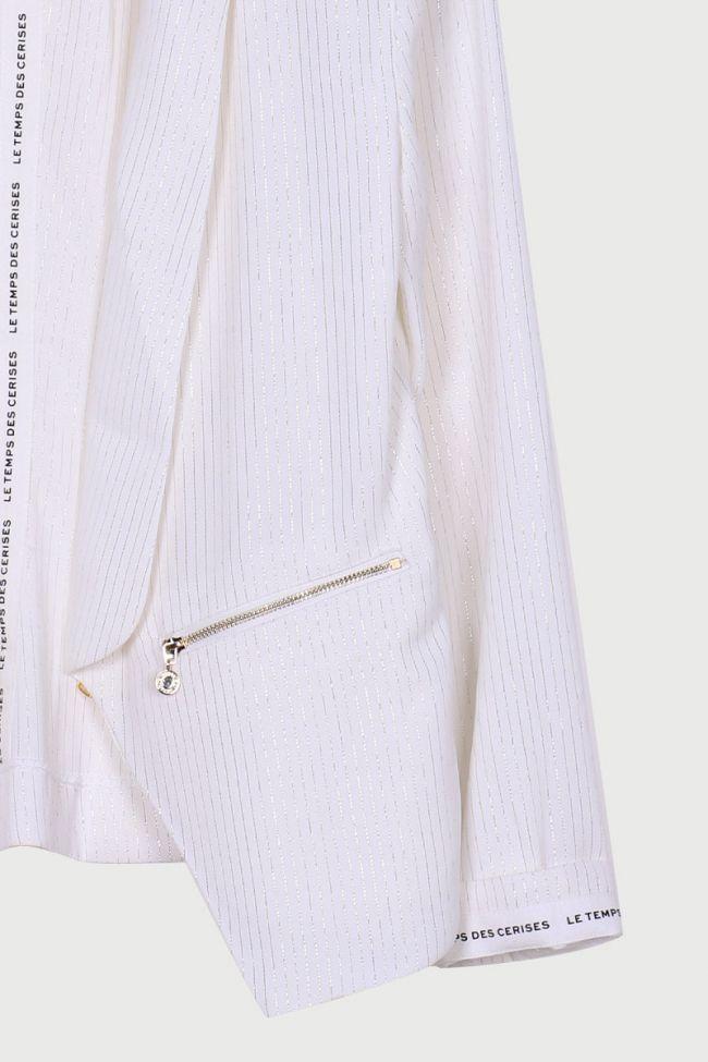 Veste Toreba blanc cassé