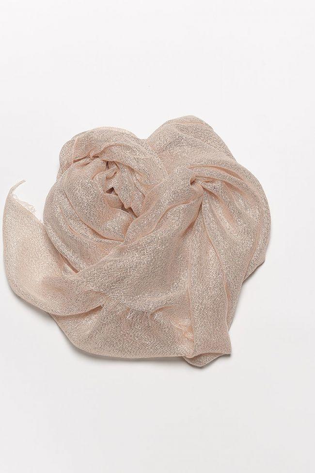 Vegas cream tan scarf